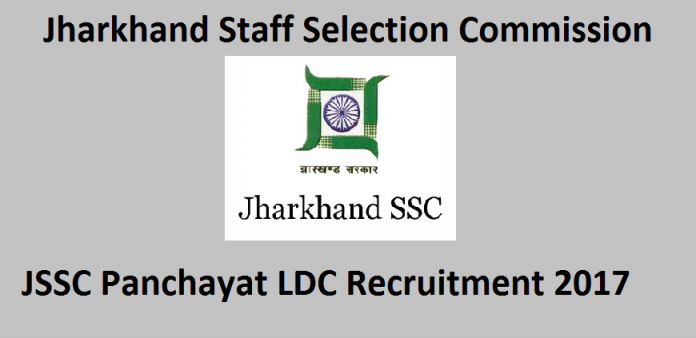 JSSC Panchayat Secretary Notification 2017