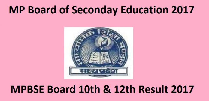MP Board exam results 2017