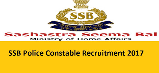 SSB Recruitment 2017 Apply Offline