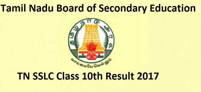 Tamilnadu SSLC March 2017 Results