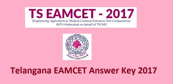 Telangana EAMCET Answer Key 2017