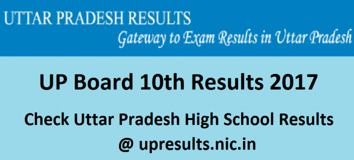 UP 10th Results 2017