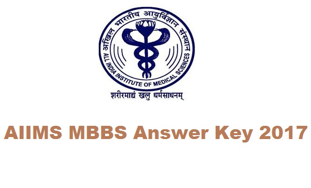 AIIMS MBBS Answer Key 2017