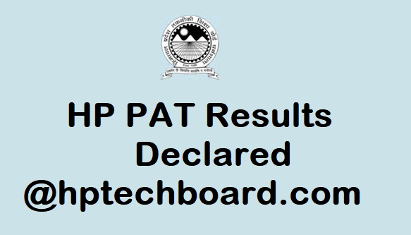 HP PAT Result 2017