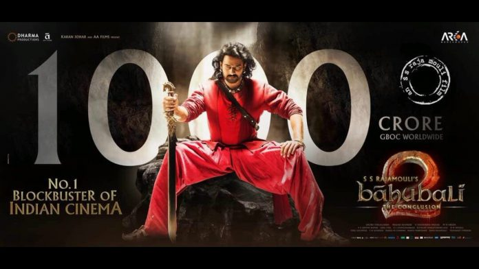 Baahubali-2 Became the First Ever Indian Movie to Gross Rs.1000 Crores