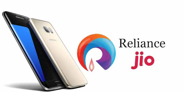 Reliance Jio Associated with Samsung and is giving 448GB Free Data