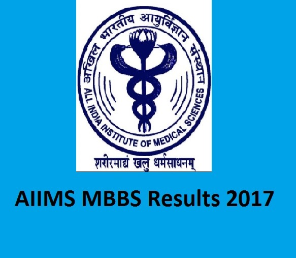 AIIMS MBBS Results 2017