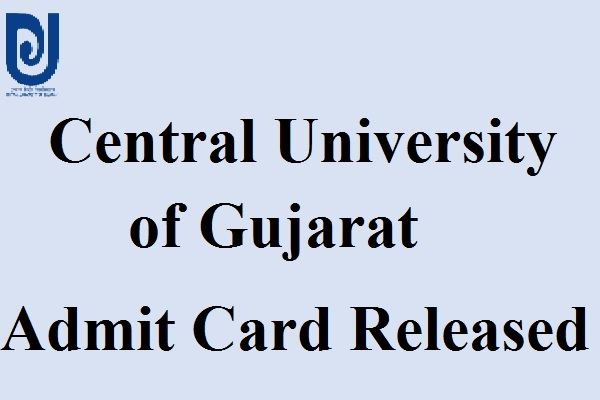 CUG Admit Card 2017