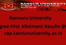 Kannur University Degree
