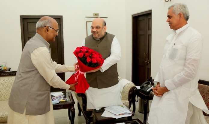 India's ruling BJP names Bihar governor as its choice for next president