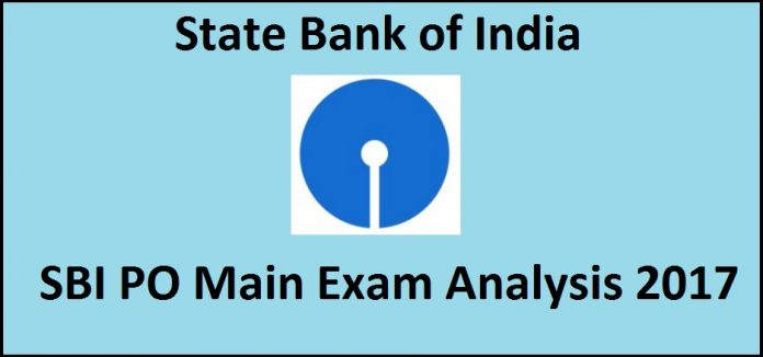 SBI PO Main Exam Analysis