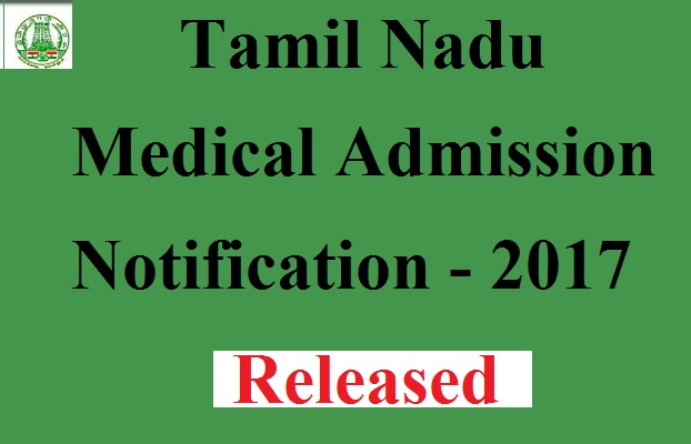 Tamil Nadu Medical Admission