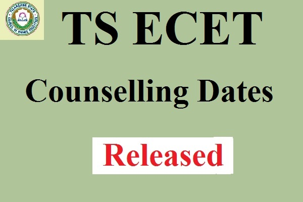 TS ECET Counselling 2017