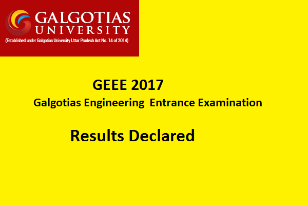 geee results 2017