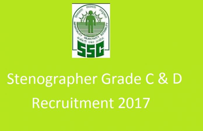 ssc stenographer recruitment 2017