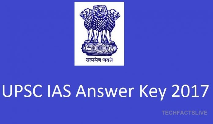 UPSC IAS Prelims Answer Key