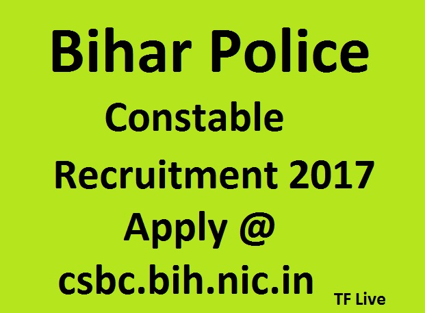 Bihar Police constable Recruitment