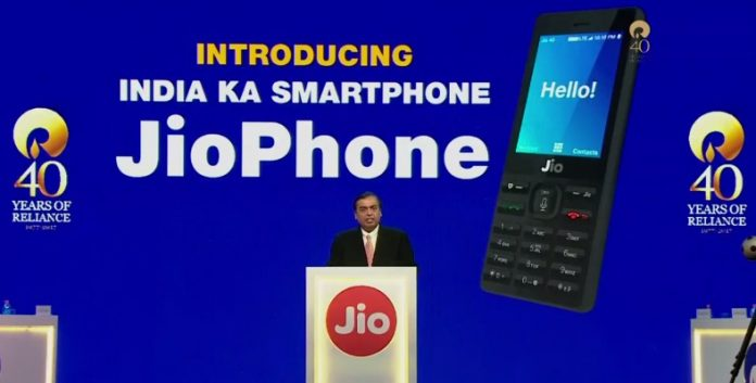 Jio Phone delivery