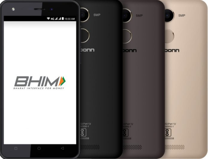 Karbonn launches new phone with BHIM app