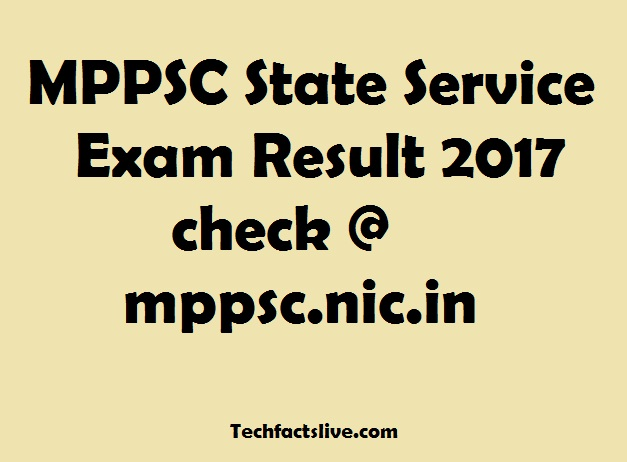 MPPSC State Service Exam 2016