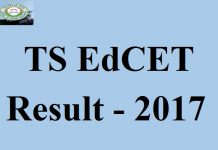 TS EdCET Results 2017