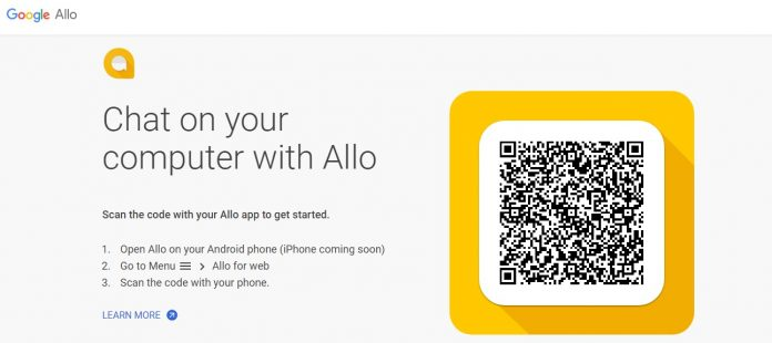 Allo web version