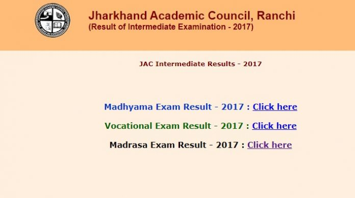 JAC Madrasa Results