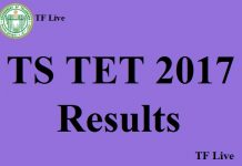 TS TET 2017 Results