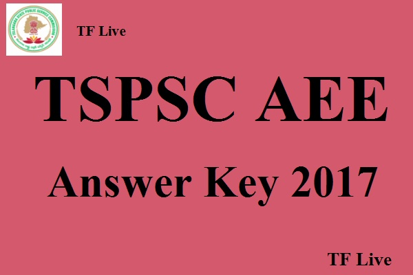 TSPSC AEE Answer Key 2017