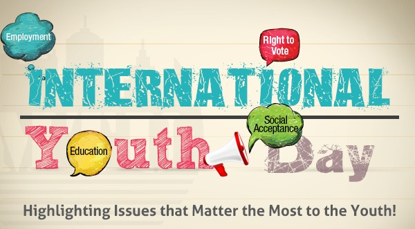 Peace - the focus and theme of International Youth Day