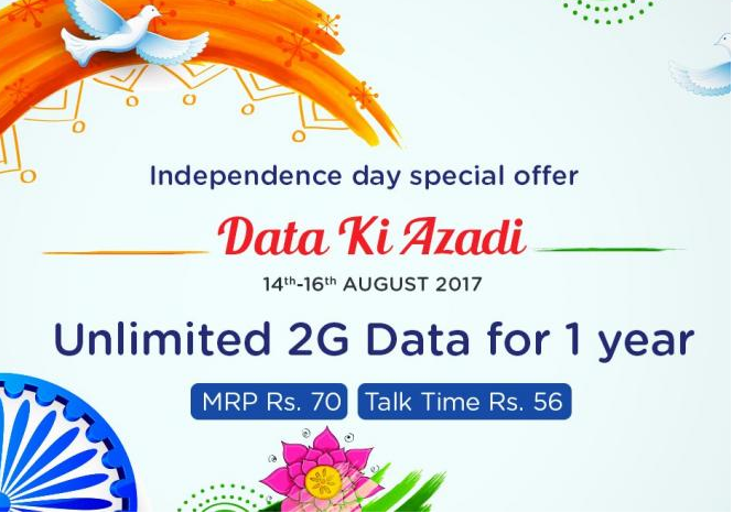 rcom offer data ki azadi