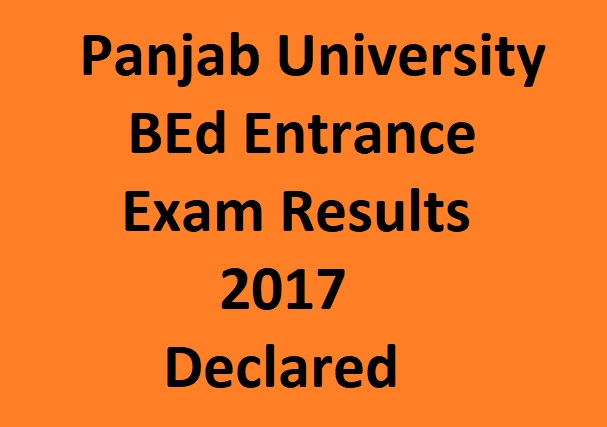 Panjab university BED Results