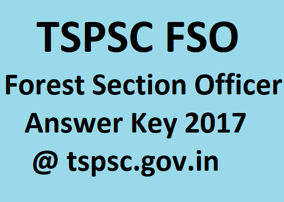 TSPSC Forest Section Officer