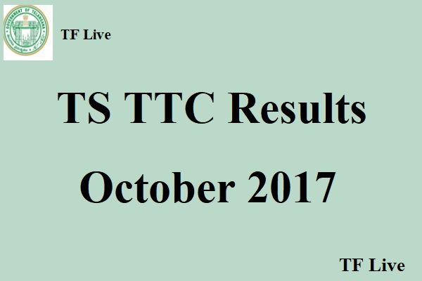 TS TTC Results October 2017
