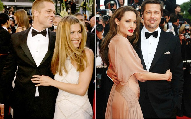 When Angelina Jolie was seen ignoring Jennifer Anniston at the Golden Globes