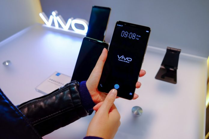 Vivo unveils first under-the-display fingerprint smartphone at CES 2018
