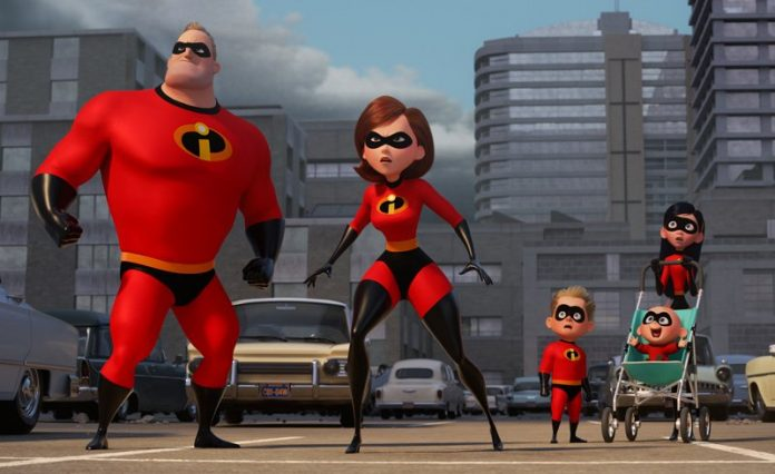 The Parr family are back in action in 'The Incredibles 2'