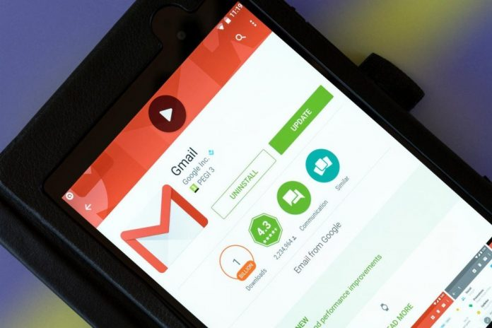 how to log out gmail account from android mobile
