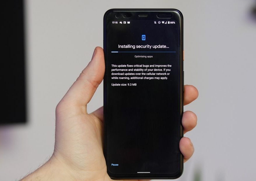 Google Pixel with Fixes for Auto-Rotation